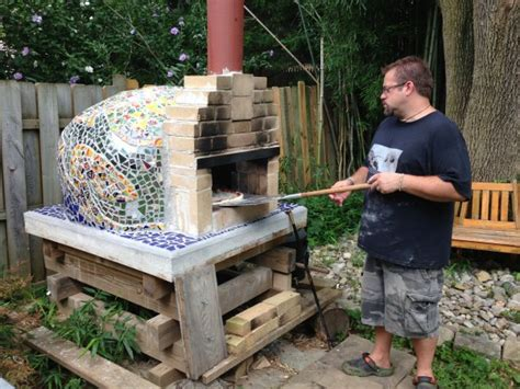making a pizza oven backyard pin wood fired ovens recycled kadai firebowls on pinterest
