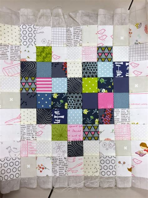Quilt Interfacing by Gigi S Thimble Pixilated Mini Quilt