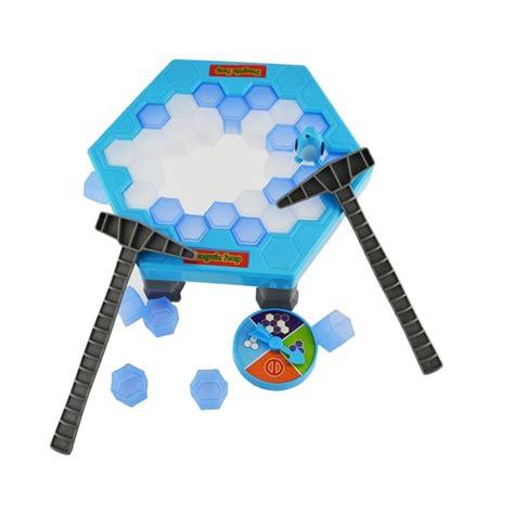 Mainan Anak Penguintrap jual tokuniku penguin trap activate interactive breaking table building blocks