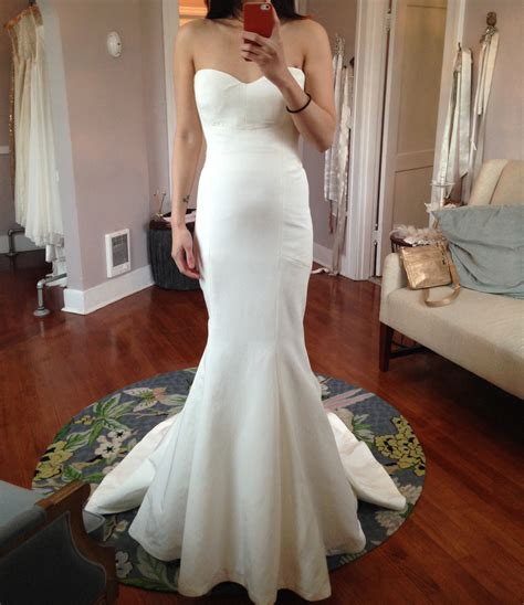 Wearing A Wedding Gown by Seamstress Advice And Who Ended Up Wearing A