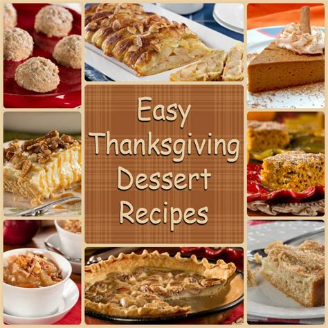 easy dinner dessert recipes diabetic thanksgiving desserts 8 easy thanksgiving
