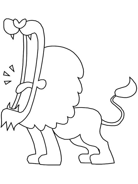 roaring lion coloring page 301 moved permanently