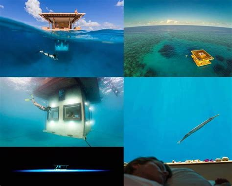Manta Resort Underwater Room by You Can Now Stay At An Underwater Hotel Room And Sleep