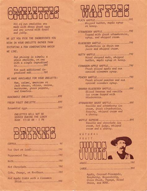 17 best images about vintage menus on