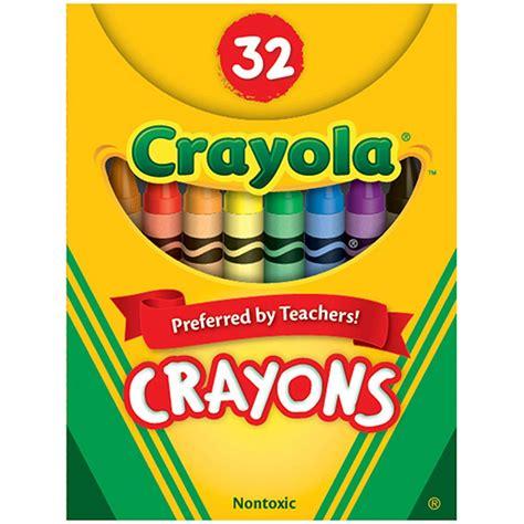 crayola crayons 32ct tuck box bin520322 crayola llc