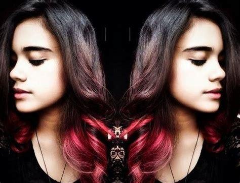gambar tutorial rambut ombre gambar pilihan warna rambut ombre memiliki panjang ash