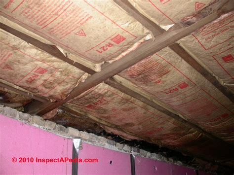 insulating basement ceilings insulation walls and ceilings images
