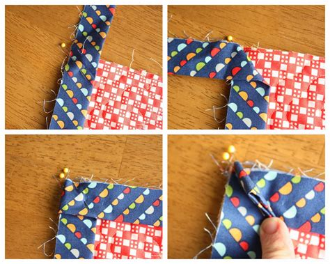 How To Bind A Quilt Corner by How To Finish And Bind A Quilt Diary Of A Quilter A
