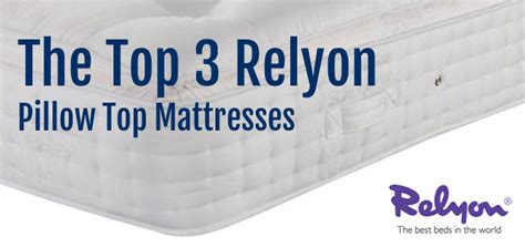 Most Comfortable Pillow Top Mattress by Land Of Beds Top 3 Relyon Pillow Top Mattresses