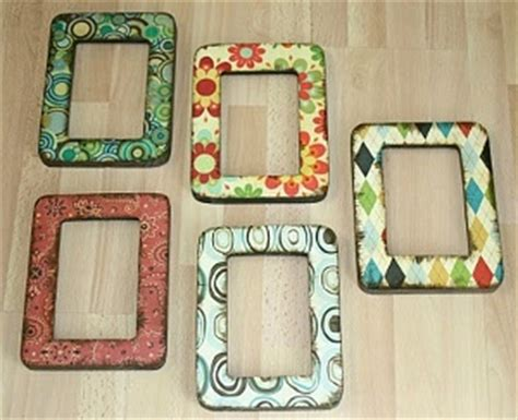 Decoupage Frame Ideas - easy decoupage frames favecrafts