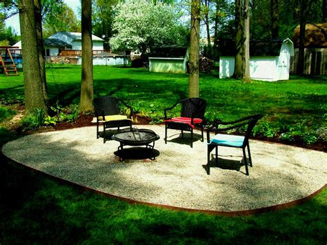 gravel patio designs knockout backyard patio ideas gravel design kitchen
