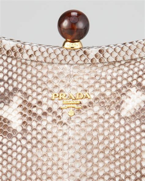 New New Prada Python 189 prada snakeskin crossbody clutch price of prada handbags
