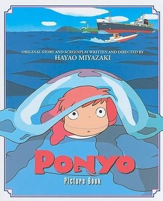 ponyo picture book ponyo picture book by hayao miyazaki reviews discussion