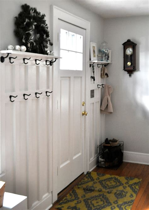 Board And Batten Entryway ducklings in a row hair diy tutorials hook a up board batten entryway project