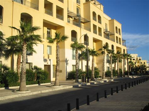 Appartments In Malta by Portomaso Surrounding Streets 3 Modern Apartment