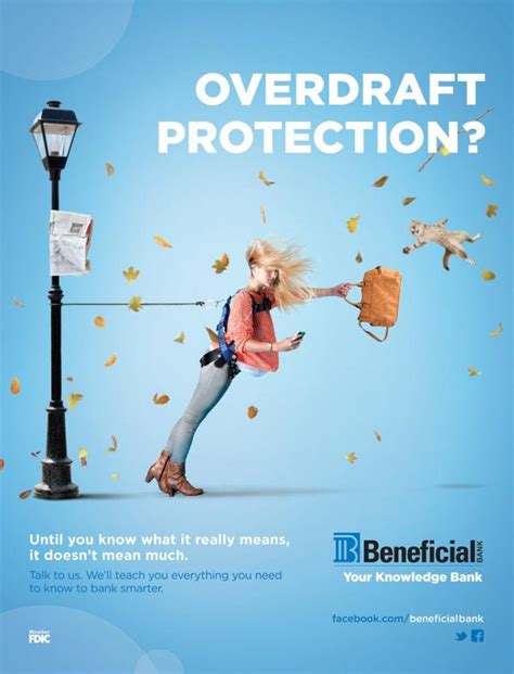 beneficial bank beneficial bank quot overdraft quot print ad by brownstein