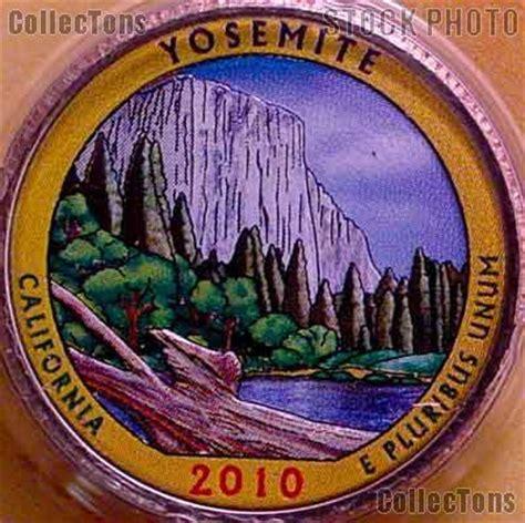 colored quarters colored quarters 2010 national park colorized quarter year