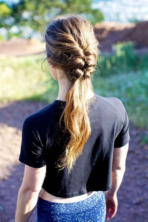 hairstyles short hair gym 25 best ideas about gym hairstyles on pinterest gym