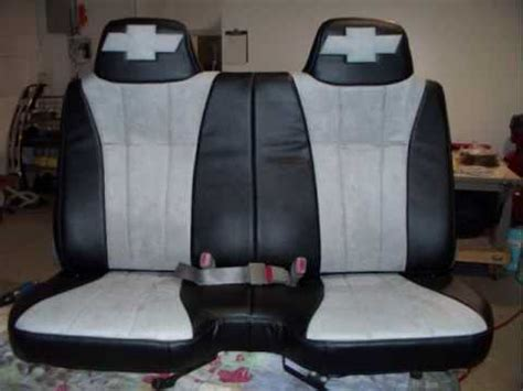 Upholstery Of Car Seats by 2004 Chevy S10 Custom Seats Leather Suede Upholstery