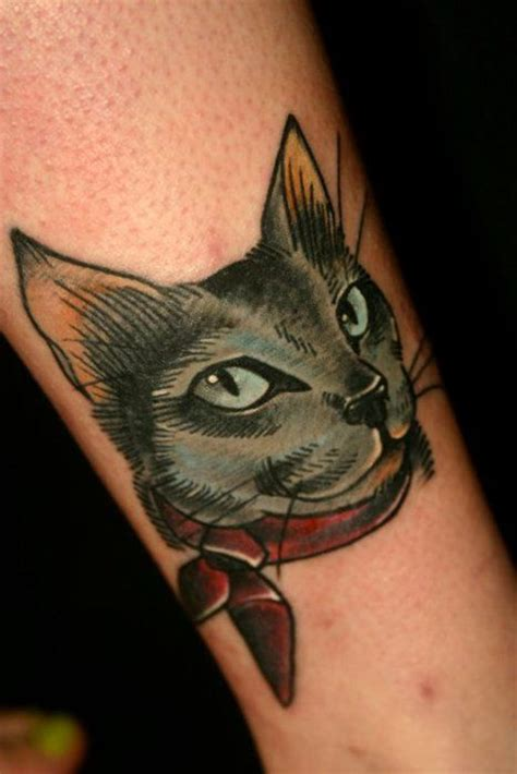 tattoo cat head 156 best images about they don t know nothing about