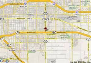 ontario airport in ontario california mapquest auto cars