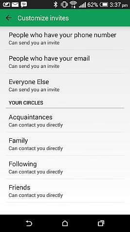 google hangouts gets new custom invitation options