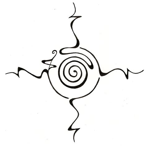 compass tattoo outline simple compass tattoo clipart best
