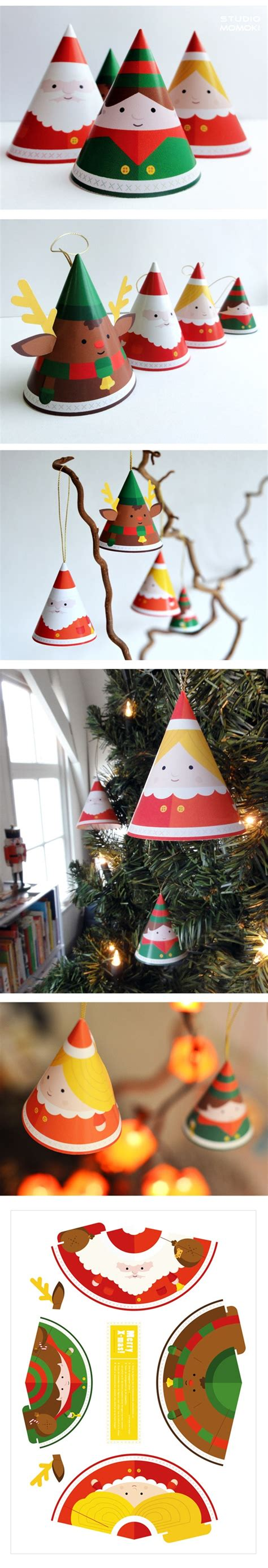 Paper Decorations Make Your Own - make your own papertoy decoration design by