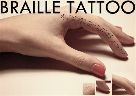 braille tattoo tattoo collections