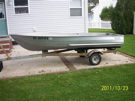 sears gamefisher flat bottom boat sears 13 gamefisher with trailer general buy sell trade