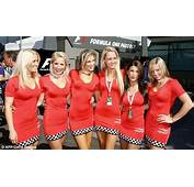 How Formula One Grid Girls Have Looked Over The Years