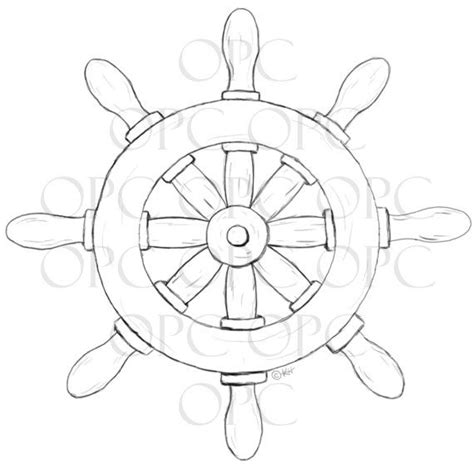 ship wheel template pirate ship wheel coloring pages