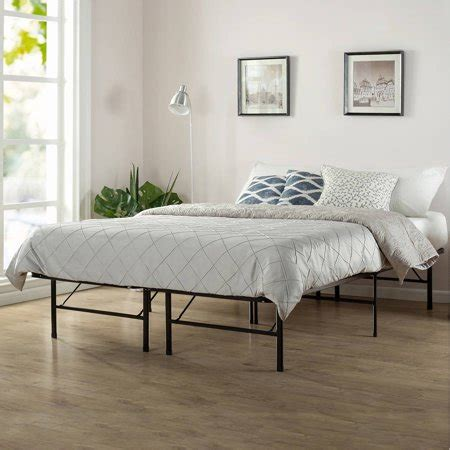 spa sensations platform bed frame sizes
