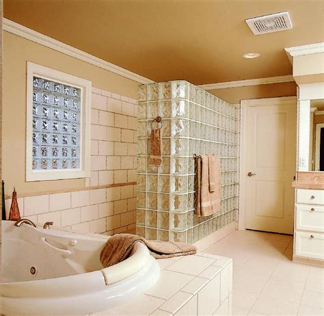 glass block bathroom glass block showers pictures and photos
