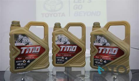 Oli Toyota toyota hadirkan oli diesel baru