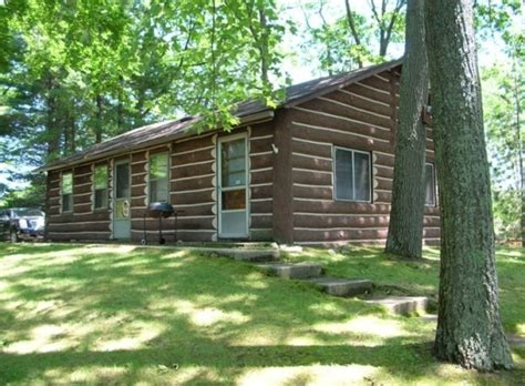Rent Cabins In Michigan log vacation rental cabin in houghton lake michigan