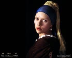 Scarlet johansson as the girl with the pearl earring