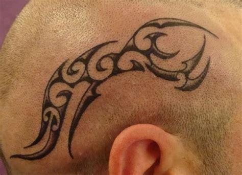 tatuaggi testa tattuaggio testa tribale by zona kaos