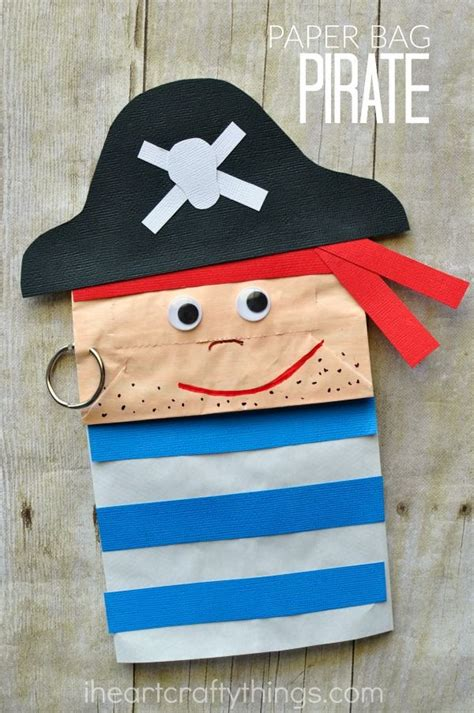 pirate craft ideas for 25 best ideas about paper bag crafts on paper