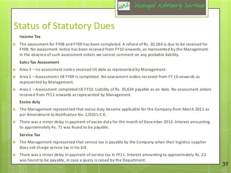 Sle Due Diligence Report Technical Due Diligence Report Template