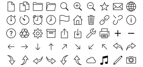 Best Font Online Resume by Top 50 Free Icon Sets From 2013