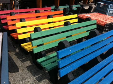 bottle cap bench trade bottlecaps for benches don t drop the top