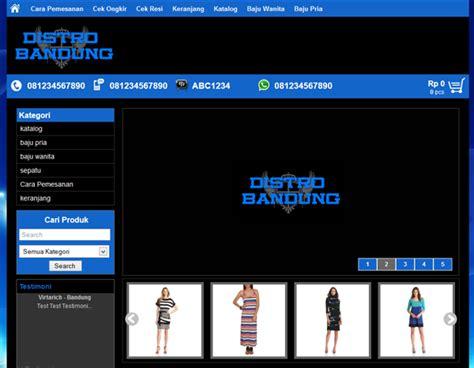 custom wallpaper bandung distro bandung themes toko online wordpress template