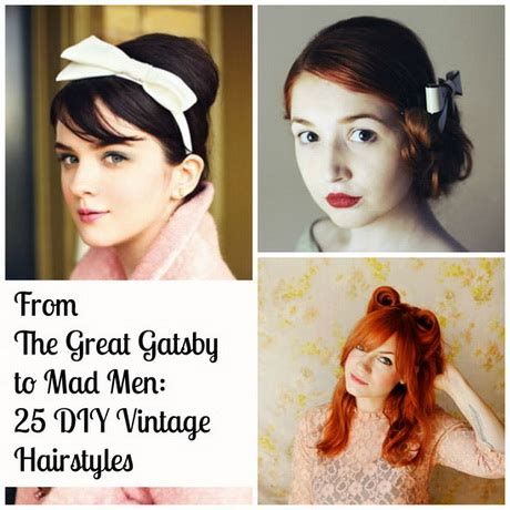 over 50 easy hair tutorials easy 50s hairstyles
