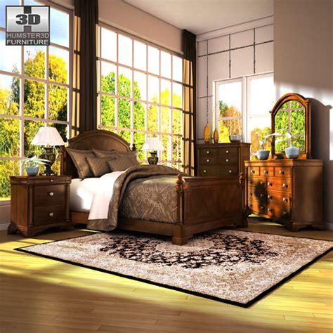 leighton bedroom set 3d model ashley leighton poster bedroom set vr ar low