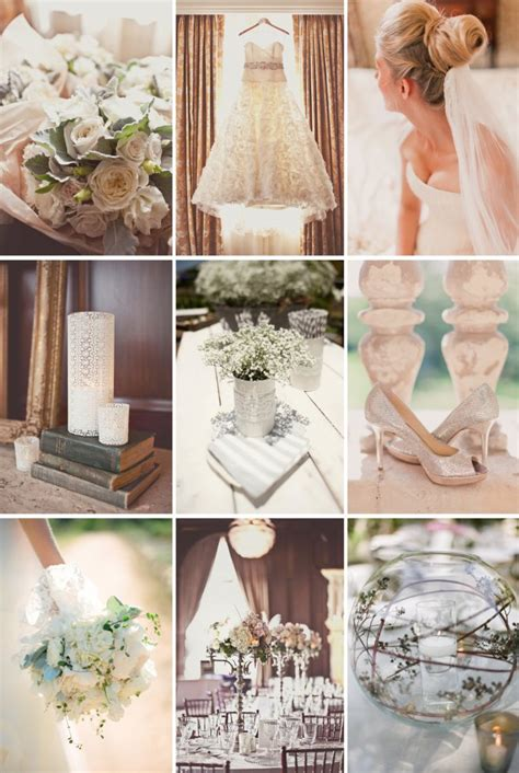 2013 trend alert beautiful neutrals for a timeless wedding onewed