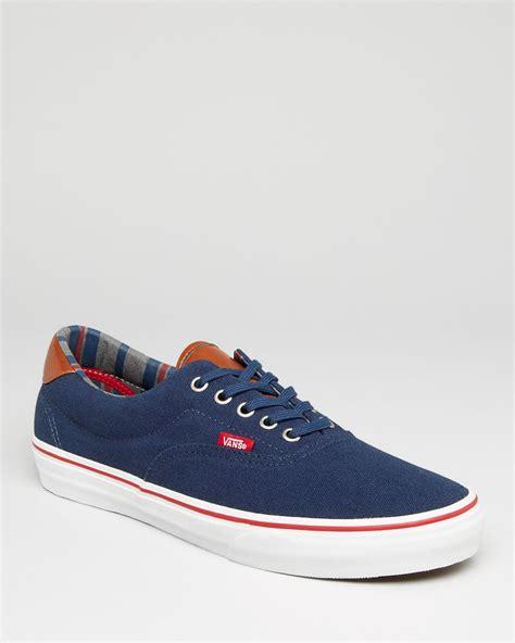 vans era vans era 59 sneakers in blue for navy lyst