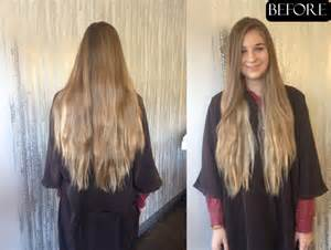 hair makeover before and after lovely long locks jonathan george blog