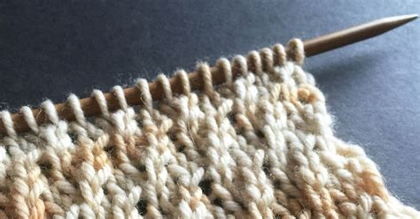 knitting in the twisted twisted stockinette rib the weekly stitch