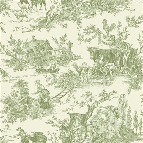 Tapisserie De Jouy by 18e Siecle Decoration And Fashion Papier Peint Toile De
